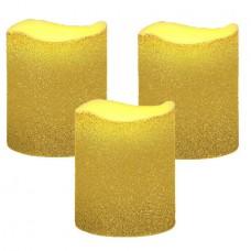 LED kubbelys 3-pak Shine
