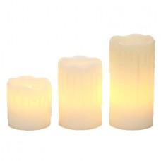 LED kubbelys 3-pak Drip