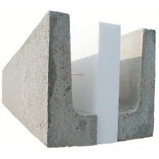 Leca Fasadebjelke, BHL = 12,5x25x300 cm