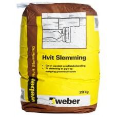 weber Hvit Slemming   NY 20 KG SEKK