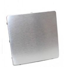 Dekorplate - børstet aluminium