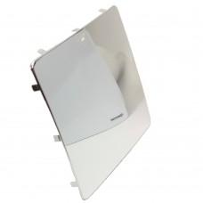 Dekorplate - polert aluminium