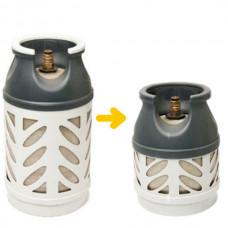 Bytte fra 10kg til 5kg kompositt beholder (uten gass)