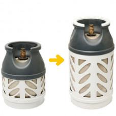 Bytte fra 5kg til 10kg kompositt beholder (uten gass)
